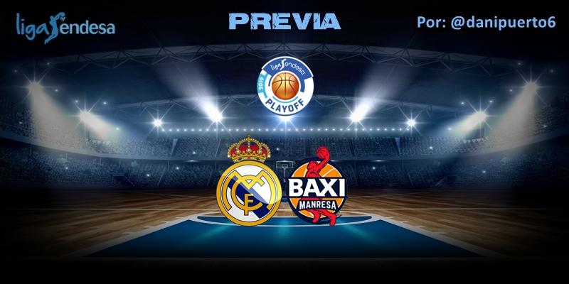 PREVIA   Real Madrid vs Baxi Manresa   Liga Endesa   Playoff   1/4 Final