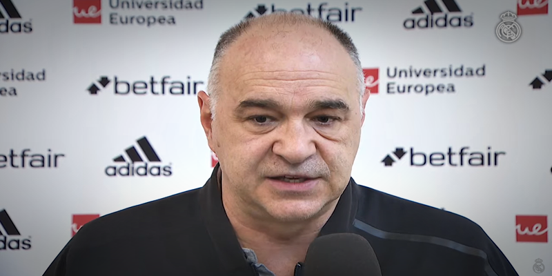 VÍDEO   Pablo Laso: «Será un partido muy complicado y difícil»