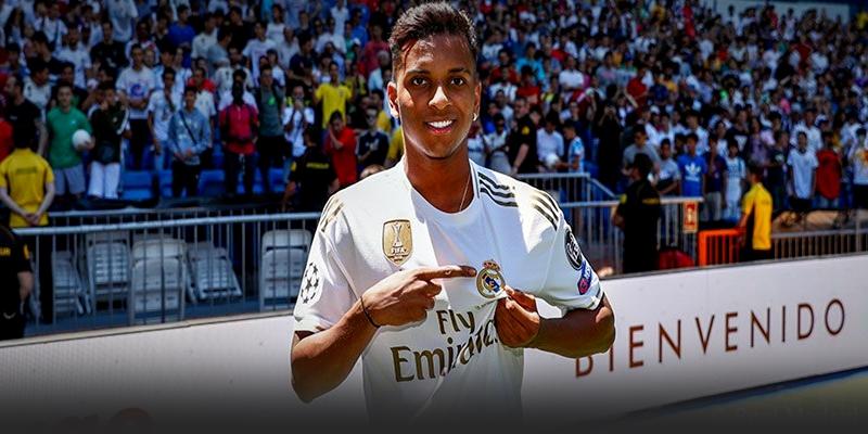 VÍDEO | Acto de presentación de Rodrygo Goes como nuevo jugador del Real Madrid