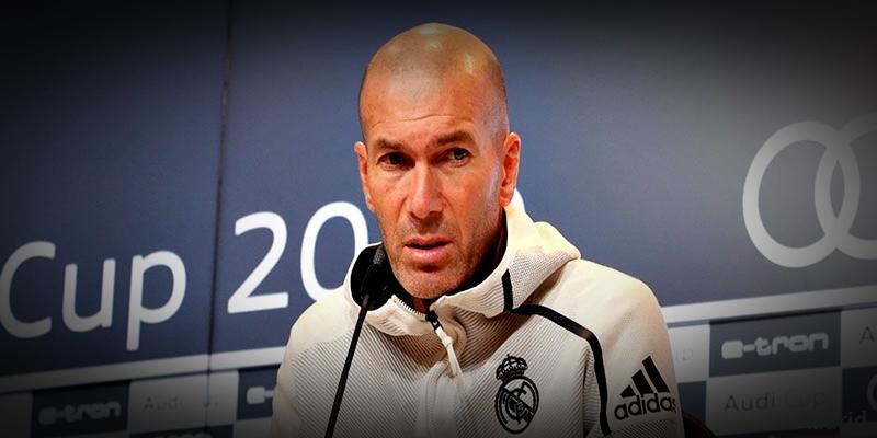 VÍDEO   Rueda de prensa de Zinedine Zidane tras el partido ante el Fenerbahçe