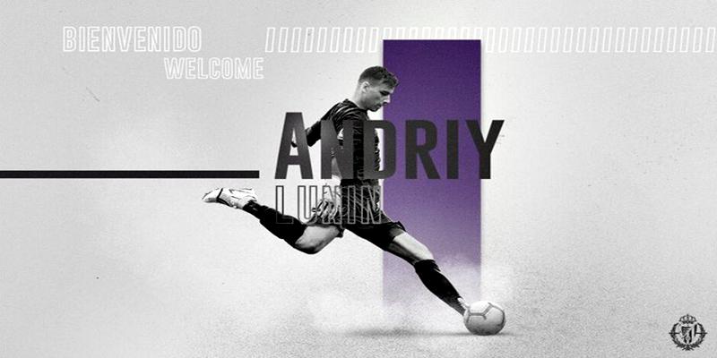 NOTICIAS | Andriy Lunin se marcha cedido al Real Valladolid