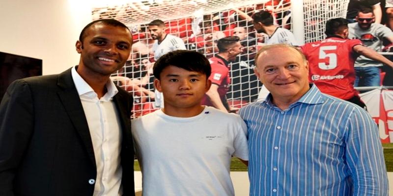 NOTICIAS | Takefusa Kubo jugara en el RCD Mallorca la proxima temporada