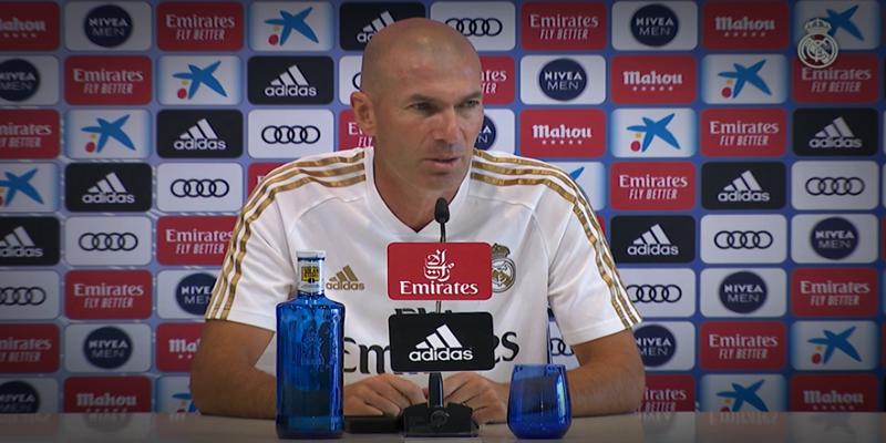 VÍDEO   Rueda de prensa de Zinedine Zidane previa al partido ante el Villarreal
