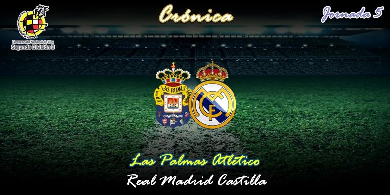 CRÓNICA | Y van doscientos setenta minutos de Santa Bárbara anegada: Las Palmas Atlético 0 – 0 Real Madrid Castilla