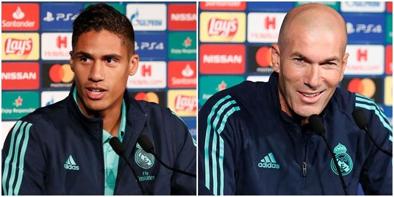 VÍDEO   Rueda de prensa de Zinedine Zidane y Raphael Varane previa al partido ante el Paris Saint-Germain