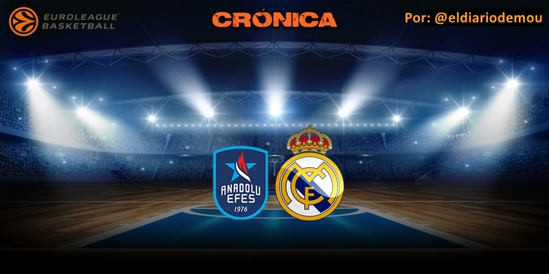 CRÓNICA | Perdidos: Anadolu Efes 76 – 60 Real Madrid