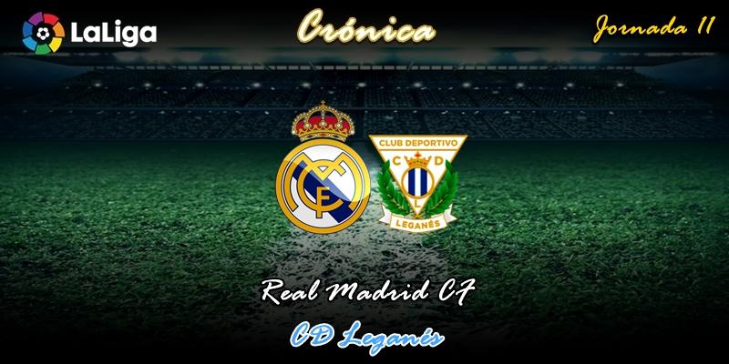 CRÓNICA | Violinistas y trileros: Real Madrid 5 – 0 Leganés