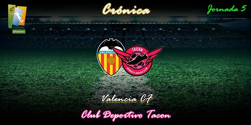 CRÓNICA   Empate que sabe a poco: Valencia CF 1 – 1 CD Tacon
