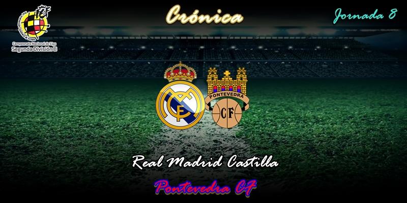CRÓNICA   Festín de marisco y posterior indigestión: Real Madrid Castilla 2 – 1 Pontevedra