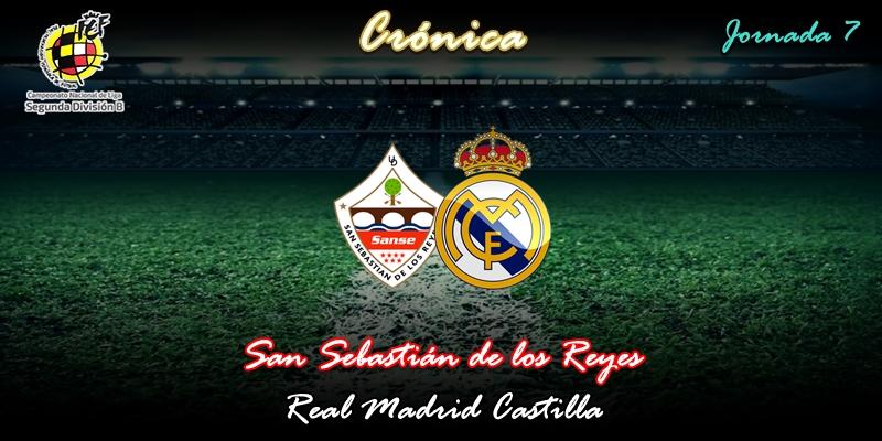 CRÓNICA   El Castilla salva los muebles junto a la sede de Ikea: San Sebastián de los Reyes 1 – 1 Real Madrid Castilla