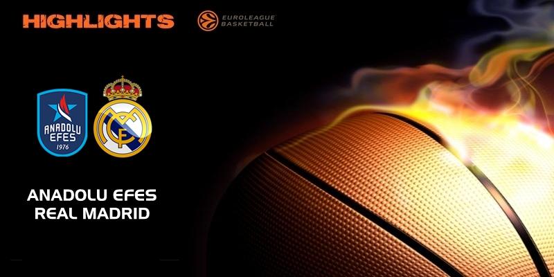 VÍDEO | Highlights | Anadolu Efes vs Real Madrid | Euroleague | Jornada 4