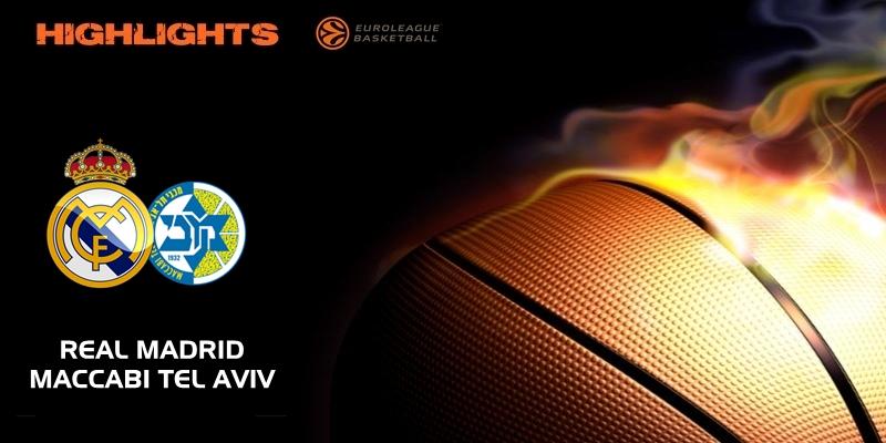 VÍDEO | Highlights | Real Madrid vs Maccabi Tel Aviv | Euroleague | Jornada 2