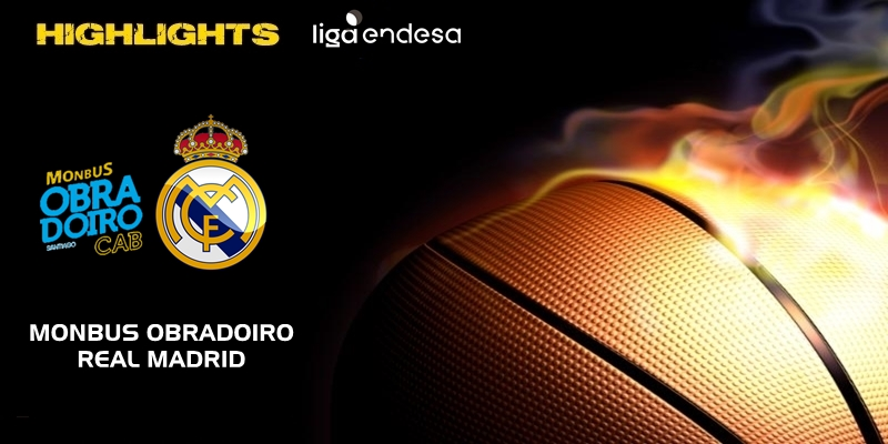 VÍDEO   Highlights   Monbus Obradoiro vs Real Madrid   Liga Endesa   Jornada 5