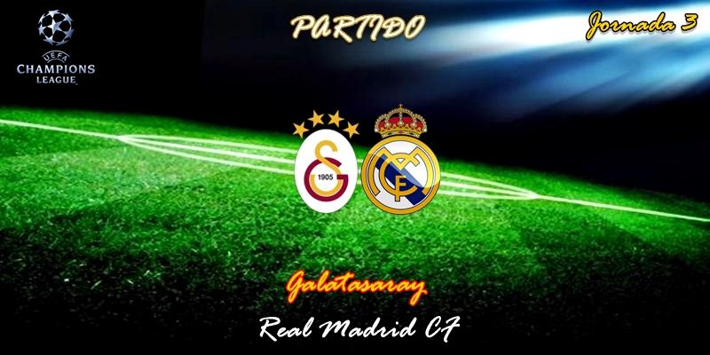 VÍDEO | Partido | Galatasaray vs Real Madrid | UCL | Jornada 3