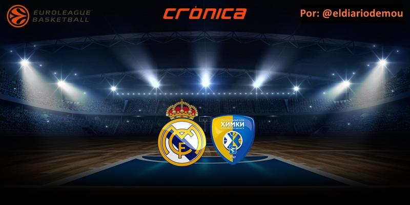CRÓNICA | Avalancha: Real Madrid 104 – 76 BC Khimki