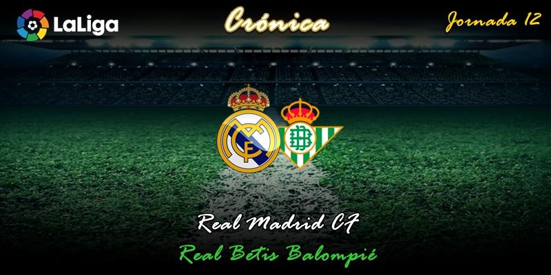 CRÓNICA | Gatillazo: Real Madrid 0 – 0 Betis