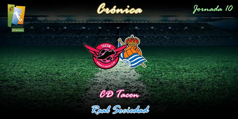 CRÓNICA | Triunfo tras el parón: CD Tacon 3 – 1 Real Sociedad