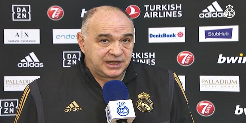 VÍDEO   Pablo Laso: «El Asvel es un equipo muy fuerte fisicamente»