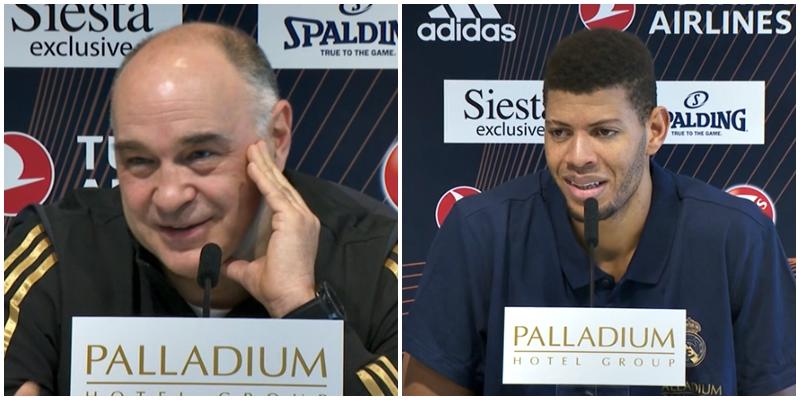 VÍDEO | Declaraciones de Pablo Laso y Walter Tavares en la previa del partido ante el FC Barcelona