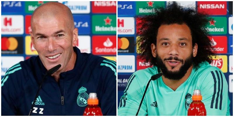 VÍDEO | Rueda de prensa de Zinedine Zidane y Marcelo previa al partido ante el Galatasaray