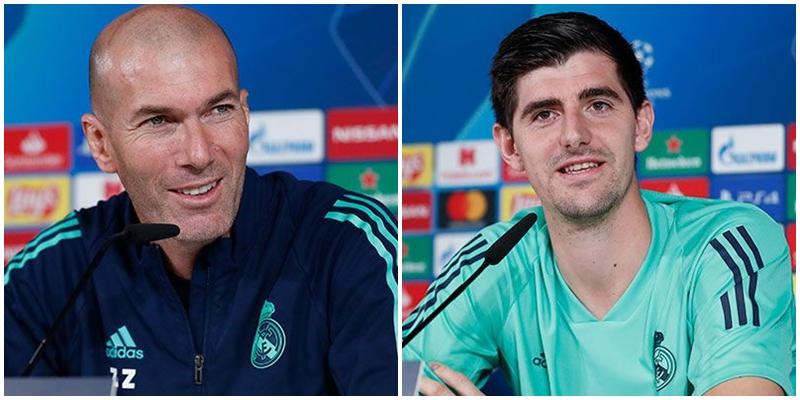 VÍDEO   Rueda de prensa de Zinedine Zidane y Thibaut Courtois previa al partido ante el PSG