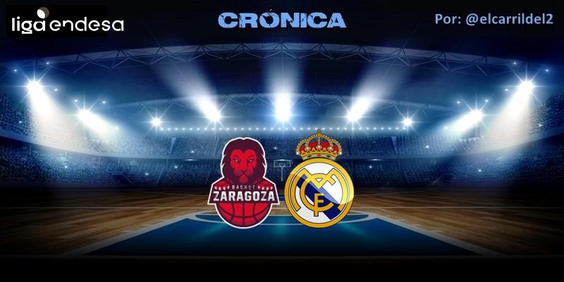 CRÓNICA | El cansancio pasa factura: Casademont Zaragoza 84 – 67 Real Madrid