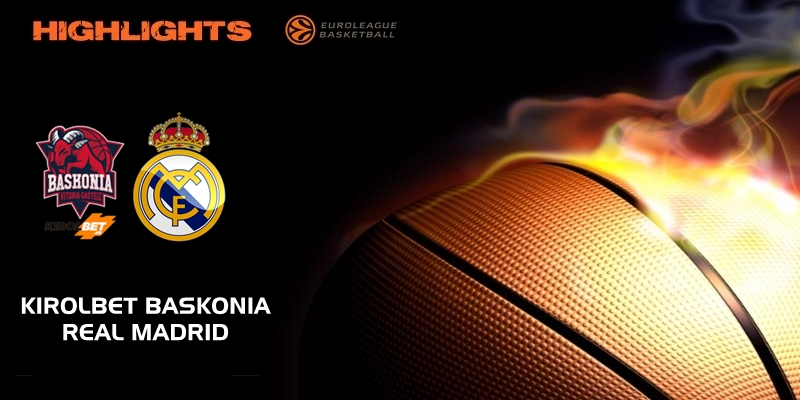 VÍDEO | Highlights | Kirolbet Baskonia vs Real Madrid | Euroleague | Jornada 15