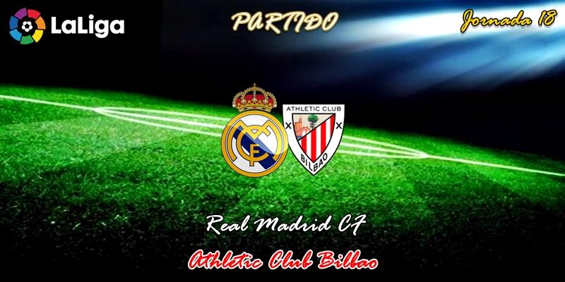 VÍDEO | Partido | Real Madrid vs Athletic Club Bilbao | LaLiga | Jornada 18
