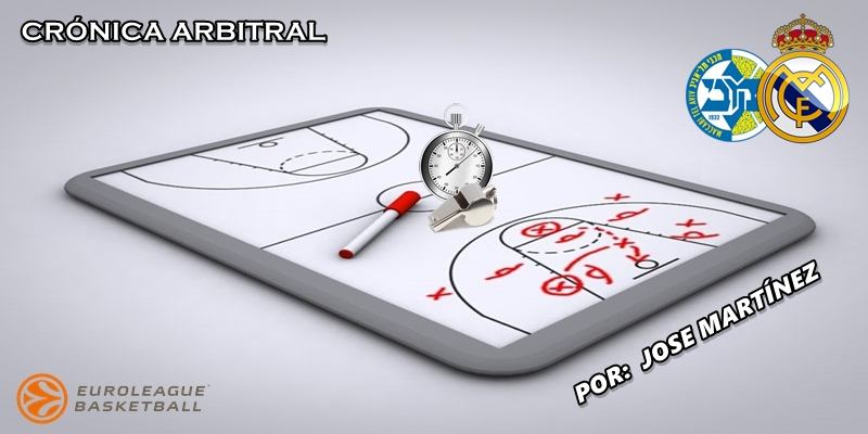 CRÓNICA ARBITRAL | Maccabi Tel Aviv vs Real Madrid | Euroleague | Jornada 22