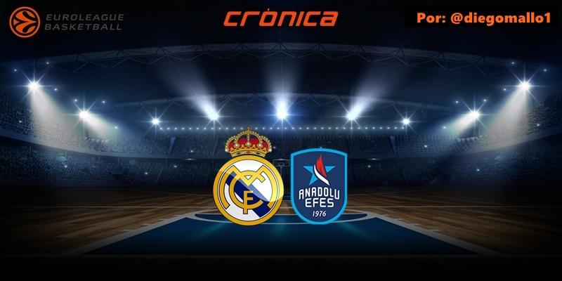 CRÓNICA | Larkin y un Madrid sin identidad agravan la crisis: Real Madrid 75 – 80 Anadolu Efes