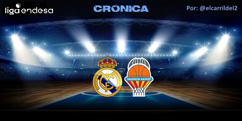 CRÓNICA | El rey es Rudy: Real Madrid 85 -78 Valencia Basket