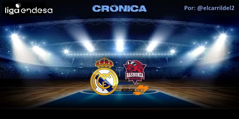 CRÓNICA | Semana negra: Real Madrid 94 – 95 Kirolbet Baskonia