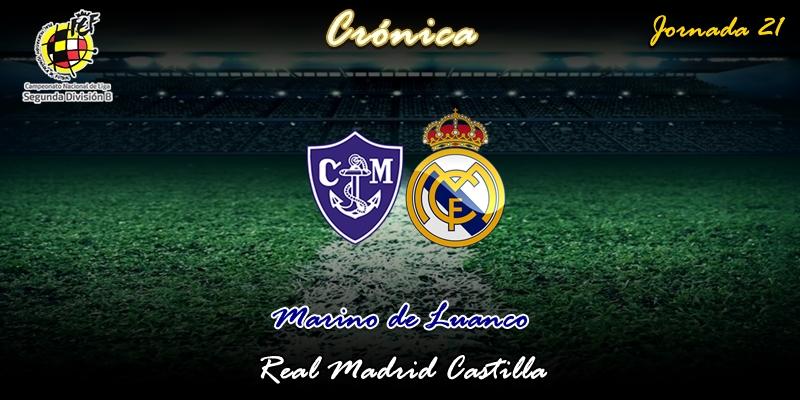 CRÓNICA   Otra derrota cosechada en el patatal del Miramar: Marino de Luanco 1 – 0 Real Madrid Castilla