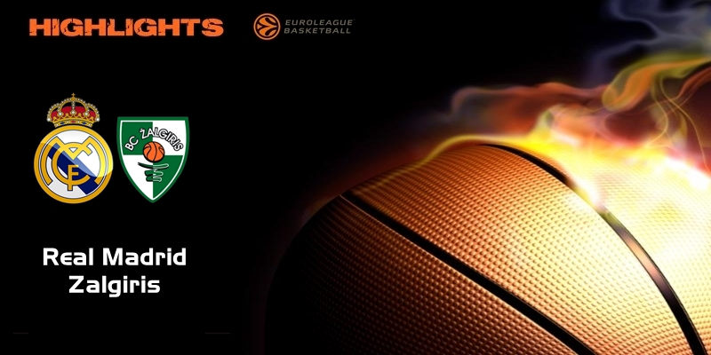 VÍDEO | Highlights | Real Madrid vs Zalgiris | Euroleague | Jornada 18