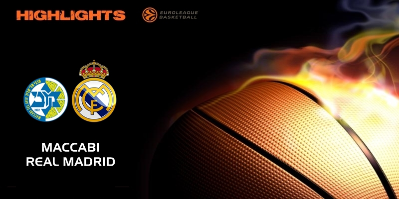 VÍDEO | Highlights | Maccabi Tel Aviv vs Real Madrid | Euroleague | Jornada 22