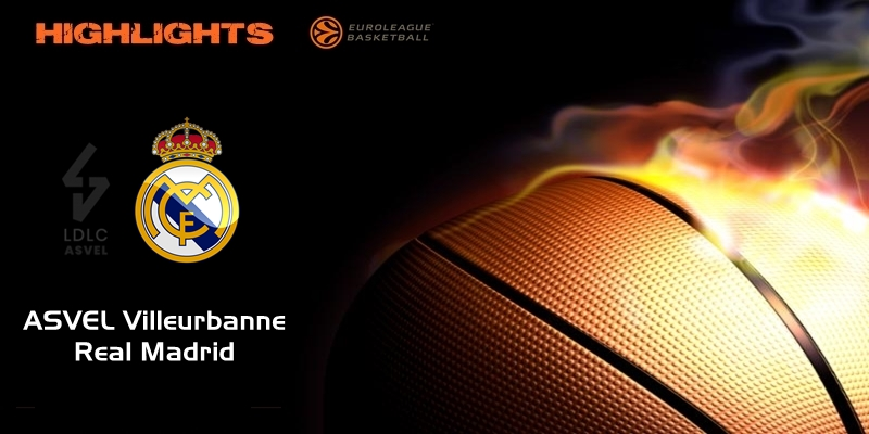 VÍDEO | Highlights | ASVEL Villeurbanne vs Real Madrid | Euroleague | Jornada 17