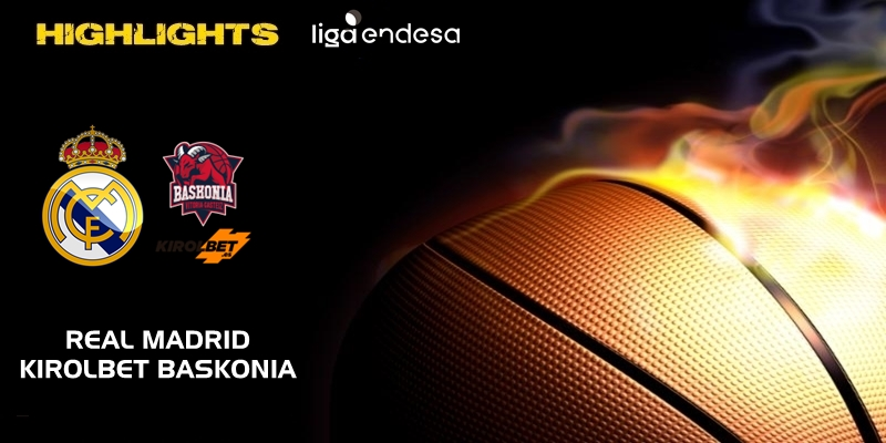 VÍDEO | Highlights | Real Madrid vs Kirolbet Baskonia | Liga Endesa | Jornada 18