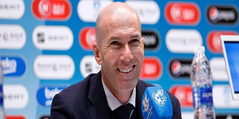 VÍDEO | Rueda de prensa de Zinedine Zidane tras la final de la Supercopa