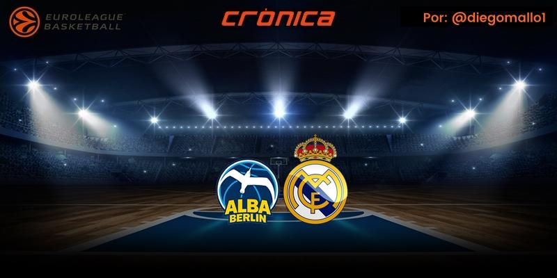 CRÓNICA | La C (Campazzo) C (Carroll) R (Randolph) al rescate: Alba Berlin 97 – 103 Real Madrid