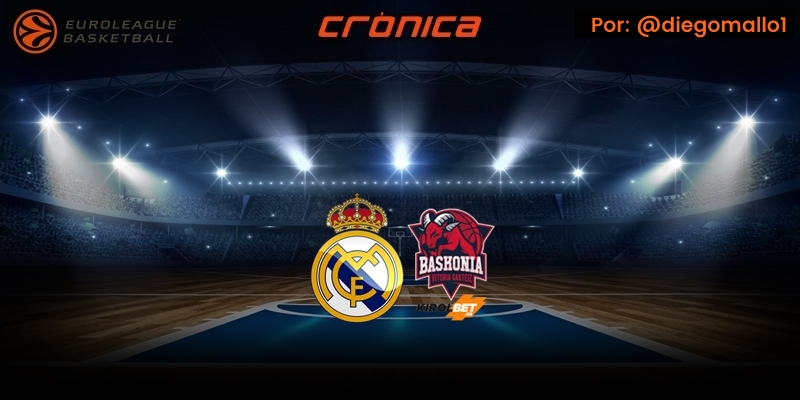 CRÓNICA   Stauskas le regala la victoria al Real Madrid: Real Madrid 70 – 69 Kirolbet Baskonia