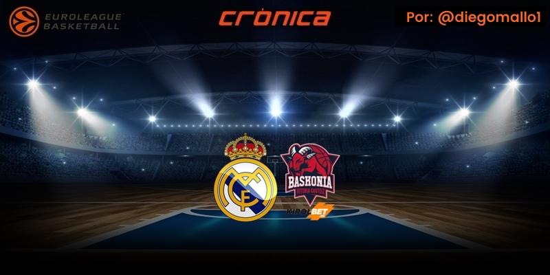 CRÓNICA | Stauskas le regala la victoria al Real Madrid: Real Madrid 70 – 69 Kirolbet Baskonia
