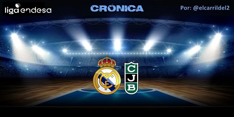 CRÓNICA | Se exige seriedad: Real Madrid 83 – 86 Joventut