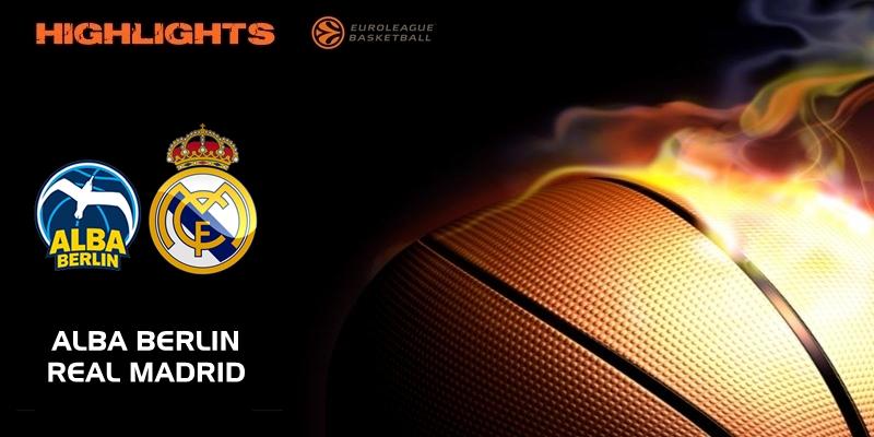 VÍDEO   Highlights   Alba Berlin vs Real Madrid   Euroleague   Jornada 24