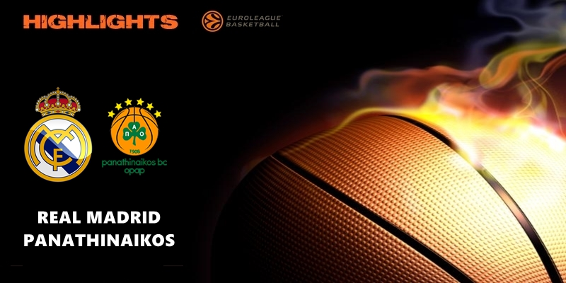 VÍDEO | Highlights | Real Madrid vs Panathinaikos | Euroleague | Jornada 26