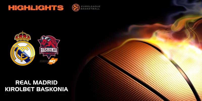 VÍDEO | Highlights | Real Madrid vs Kirolbet Baskonia | Euroleague | Jornada 23
