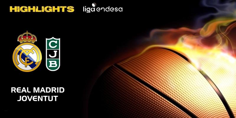 VÍDEO   Highlights   Real Madrid vs Joventut   Liga Endesa   Jornada 20
