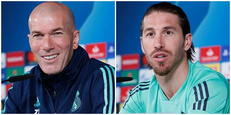 VÍDEO | Rueda de prensa de Zinedine Zidane y Sergio Ramos previa al partido ante el Manchester City