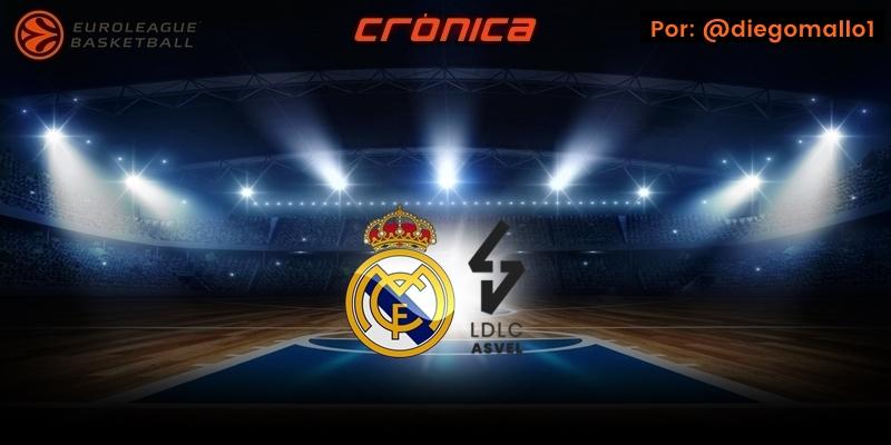 CRÓNICA | El Real Madrid baja al barro para llevarse la victoria: Real Madrid 87 – 78 ASVEL Villeurbanne