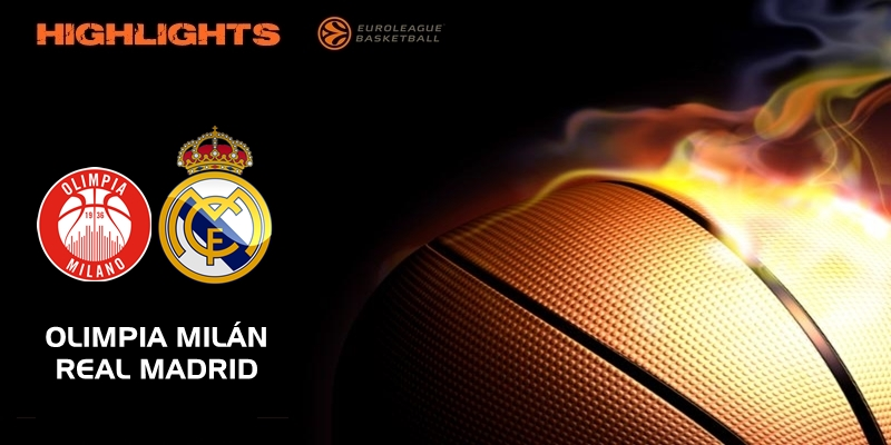 VÍDEO | Highlights | Olimpia Milán vs Real Madrid | Euroleague | Jornada 27