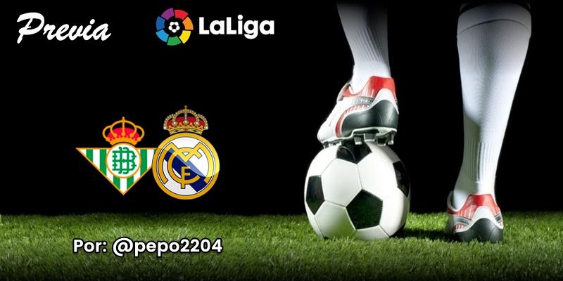 PREVIA   Betis vs Real Madrid: Traje de estreno